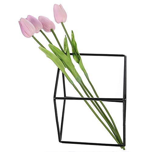 (Annibus Flower Tulip 4pcs/lot Single Leaves Artificial Tulip Flowers Wedding Decor PU Real Touch Tulip Simulation Flower Wreath Home Garden)