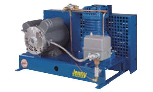 Jenny Compressors F12A-B-230/1 1/2-HP 17-Gallon Tank 1 Ph...