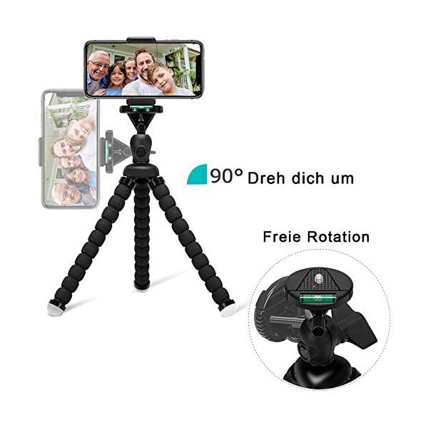 Handy Stativ Mini Flexible Octopus Style Smartphone Reise Stativ Handy Halter Halterung F R Kamera Iphone Sumsung