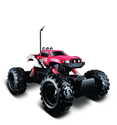 Maisto R/C Rock Crawler Radio Control Vehicle (Colors May - Truck Monster Controlled Remote