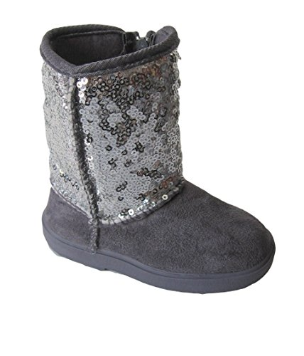 New Infant Toddler Cute Sequins Girls Dress Boots Shoes Sz 2-7 (2, ()