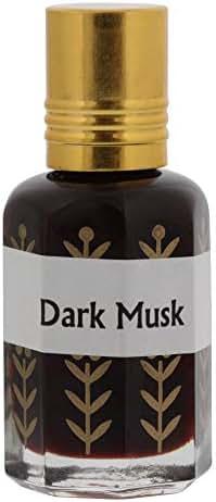 Hijaz Dark Musk KL Alcohol Free Arabian Fragrance Oil For Men - 3ML