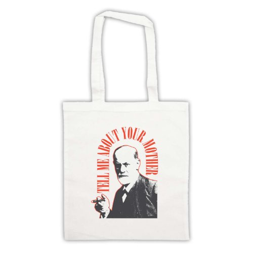 Tell Freud White Your Bag Me Tote About Mother Sigmund x41vv