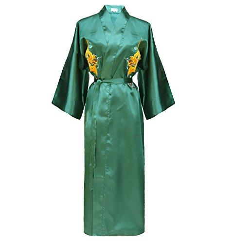Damen Morgenmantel chinesischer japanisher Kimono mehrere Farben zur Auswahl
