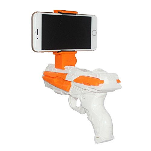 Portable Virtual AR Game Gun, VOTTAU Bluetooth AR Toys Gun...