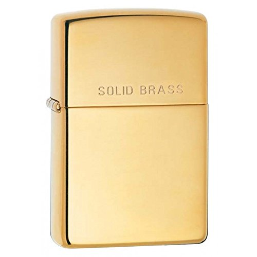 Zippo Antique Brass Lighter - 9