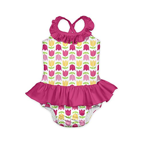 BA-Mod 1pc Ruffle Swimsuit w/Built-in Reusable