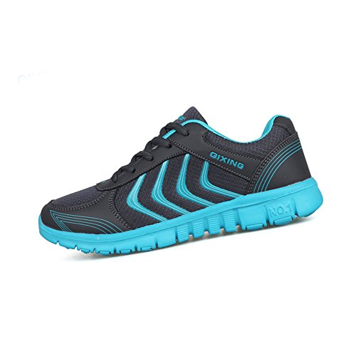 STAINLIZARD Women's Casual Lace Up Athletic Running Tennis Shoes Dark Gray