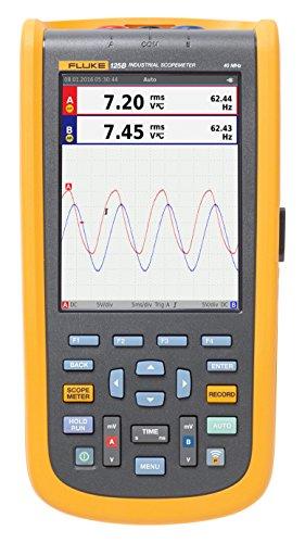 Fluke Industrial ScopeMeter hand-held Oscilloscope, 2 input channels, 20 MHZ bandwidth (20 Mhz Oscilloscope)
