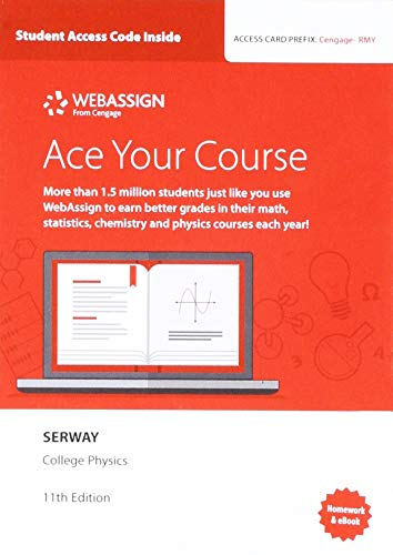 WebAssign Printed Access Card for Serway/Vuille's College Physics, 11th Edition, Multi-Term