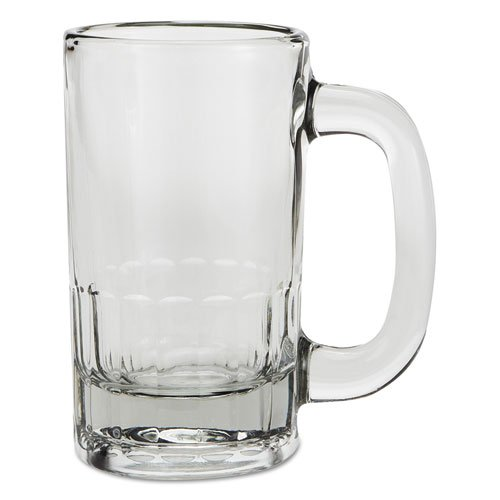 Anchor Classic Beer Mug, Glass, 12 oz, Clear - Includes 24 per case.
