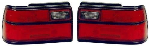 Go-Parts PAIR/SET OE Replacement for 1991-1992 Toyota Corolla Rear Tail Lights Lamps Assemblies/Lens / Cover - Left & Right (Driver & Passenger) Side - (4 Door; Sedan) for Toyota Corolla