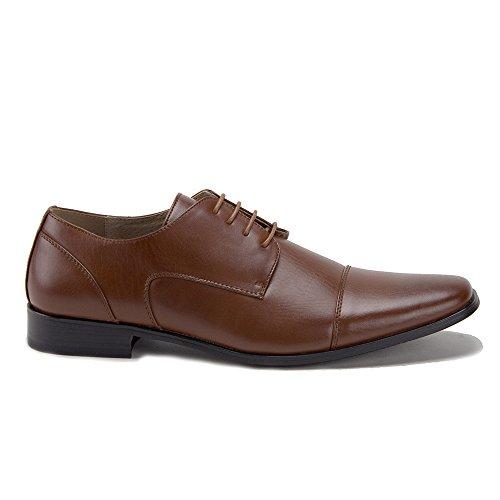 Oxfords Shoes Cap 48797 Lined Cognac Dress Up Derby Mens Jaime Aldo Leather Lace Toe qwnTUqP7f