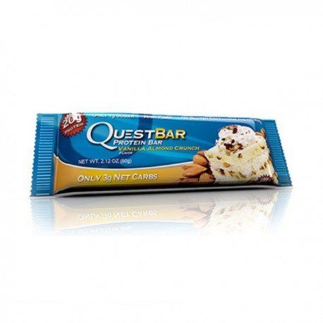 Quest Bar Protein Sabor Crujiente de Vainilla y Almendra 60 g: Amazon.es: Alimentación y bebidas