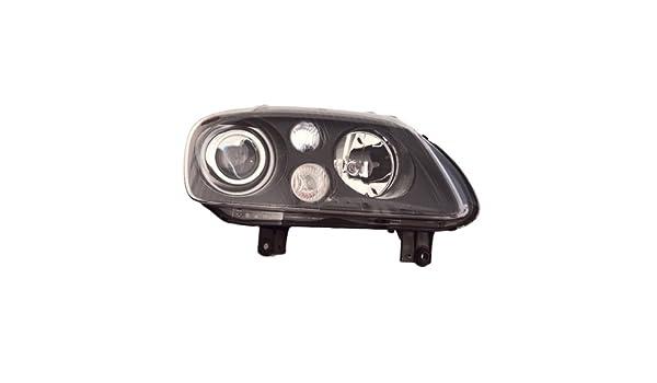VW TOURAN HeadLight RIGHT OEM Black Xenon D2S H7 2003