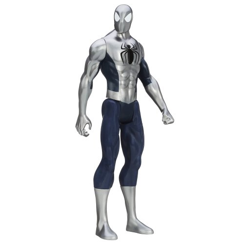 Marvel Bad Guys - Marvel Ultimate Spider-Man Titan Hero Series Armored Spider-Man Figure - 12 Inch