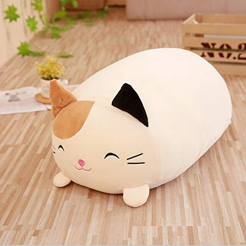 UBILILI Stuffed & Plush Animals - Soft Animal Cartoon Pillow Cushion Cute Fat Dog Cat Penguin Pig Frog Plush Toy Stuffed Lovely Kids Birthyday Gift - Toys Dogs Pillows Doll Natural Balance The