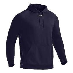 Under Armour SOAS Storm Hooded Sweatshirt, NAVY, XL
