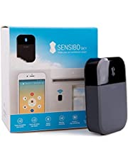 Sensibo Sky Smart Air Conditioner Controller | WiFi Thermometer Monitoring Provides Smart AC Control | Amazon Alexa, Google Home, iOS, Android Compatible | Control Temperature From Anywhere