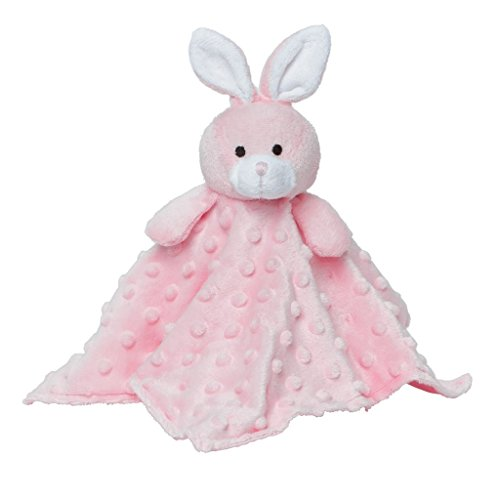 Elegant Baby Bunny Security Blankie, Pink