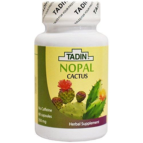 Cactus Capsules - Tadin Tea, Nopal Cactus, 60 Cap 350 mg