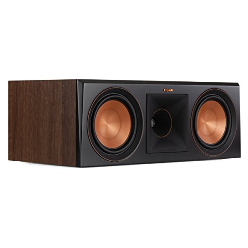 Klipsch RP-600C Center Channel Speaker (Walnut)