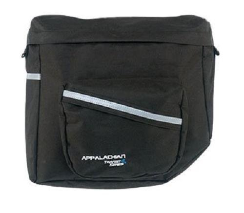 Axiom Appalachian Rear Pannier (1220 Cubic Inches, Black with Silver Reflective Trim)