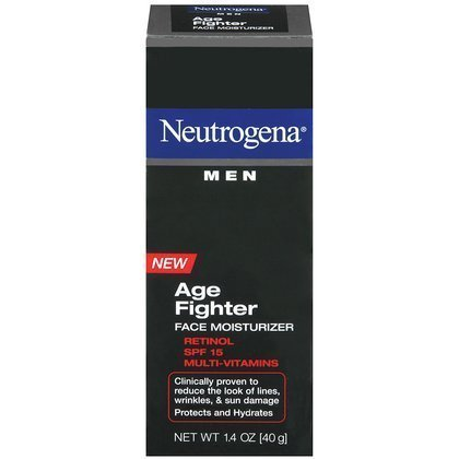 Neutrogena Men Age Fighter Face Moisturizer SPF 15-1.4 oz (Pack of (Fighter Face Moisturizer)