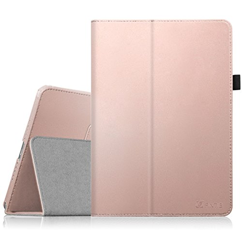 Fintie iPad mini 1/2/3 Case - Folio Slim Fit Stand Case with Smart Cover Auto Sleep / Wake Feature for Apple iPad mini 1 / iPad mini 2 / iPad mini 3, Rose Gold