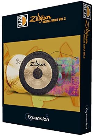 FXPANSION エフエックスパンション BFD3/2用拡張音源 BFD3/2 Expansion Pack: Zildjian Digital Vault vol.2