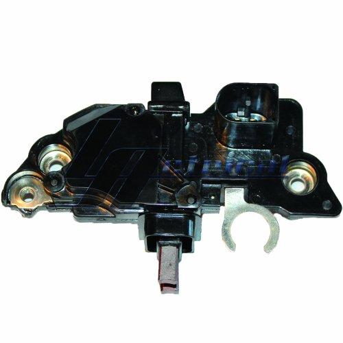 Refurbished Voltage Regulator - LActrical ALTERNATOR VOLTAGE REGULATOR BRUSHES FOR VW VOLKSWAGEN JETTA GOLF BEETLE 2.0L 2.8L 99 2000 00 01 02 03 04 05