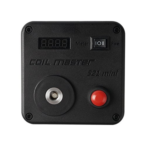 Coil Master 521 Tab Mini 100% Authentic Ohm Meter Multi-functional Rebuilding Deck With Authenticity Sticker (Master Meter compare prices)