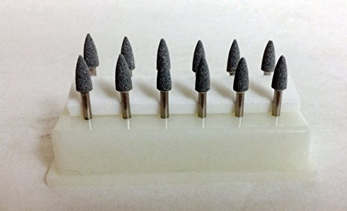 BesQual FL-2 Green Abrasive Mounting Points 12/pk by BesQual