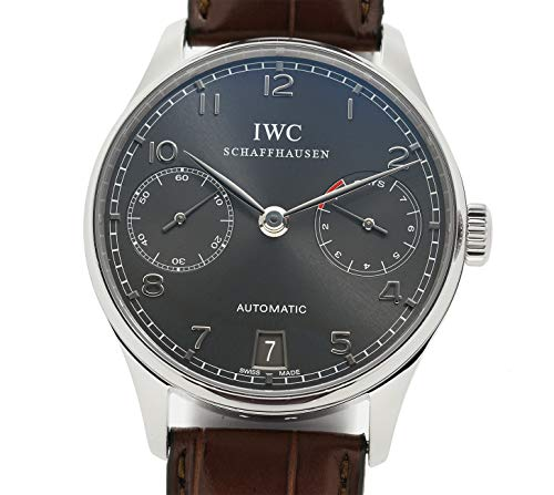 - IWC Portuguese Automatic-self-Wind Male Watch IW500106 (Certified Pre-Owned)