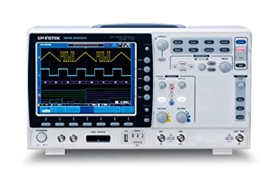 "GW Instek Series GDS-2000A 8"" LCD Color Display Visual Persistence Digital Storage Oscilloscope with USB Port"