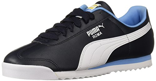 PUMA Men's Roma Basic Sneaker, Night Sky White, 11 M US