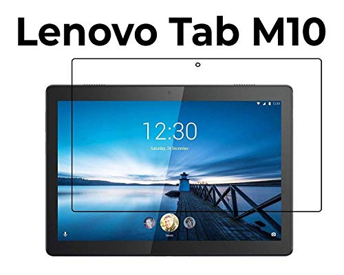 Dhavals shoppe Tempered Glass Screen Protector for Lenovo Tab M10 Tablet HD TB-X505F TB-X505L (10.1″ inch)