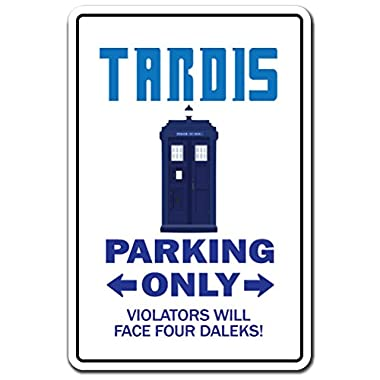 Tardis Sign Dr. Doctor Telephone for Public use who Pull to Open | Indoor/Outdoor | 14  Tall