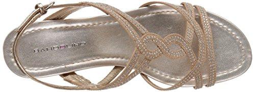 Women's Light Sandal GILNORA Gold Wedge Bandolino 1qBHc6dw6