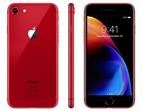 Apple iPhone 8, 256GB, Red - For Verizon (Renewed)