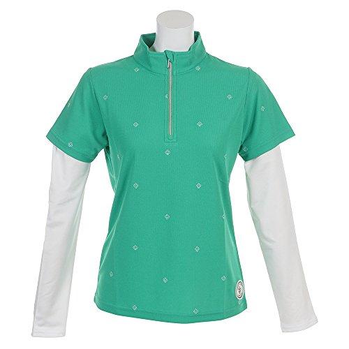 エピキュール(エピキュール) アームカバー付ポロシャツ EP37LG09 GRN 半袖