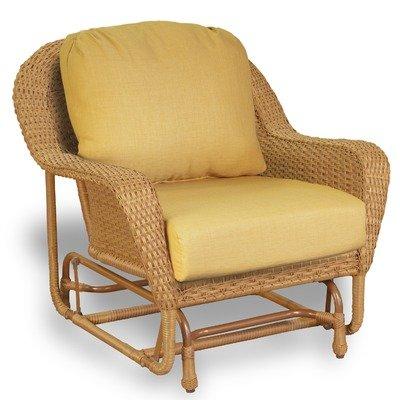 Lexington Club Chair Glider Finish: Mojave, Fabric Color: Sunbrella Seaside - Chair Club Tortuga Lexington
