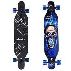 slendor Longboard Skateboard 42 inch Dro...