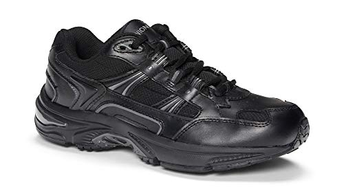Vionic Men's Orthaheel Technology Black Walker - 10 2E US