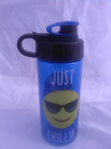 Cool Gear Blue Water Bottle with Fun Phrase- Just - Sunglass Shack