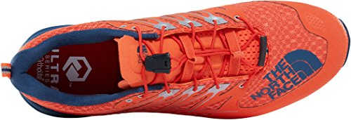 The North Face M Ultra MT II, Scarpe da Fitness Uomo Multicolore (Scarlet Ibis/Shady Blue 4dm)