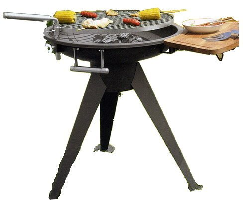 barbecue 3 pieds top plancha. Black Bedroom Furniture Sets. Home Design Ideas