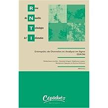 Revue des Nouvelles Technologies de l'Information : Entrepôts de données et Analyse en ligne : EDA'06