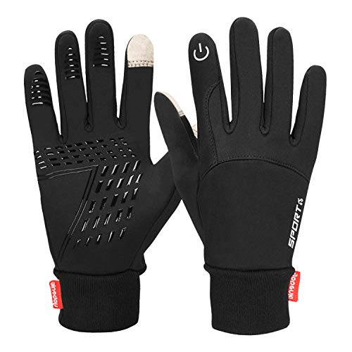 Yobenki Touch Screen Gloves, Waterproof Warm Gloves Gloves for Climbing and Winter Outdoor Sports Men & Women