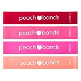 Peach Bands Resistance Bands Set - Exercise Workout Booty Bands for Legs and Butt